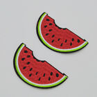 watermelon incomplete Embroidered Cloth Iron On Patch Sew Motif Applique badge