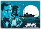 JAWS MOVIE SHARK POSTER 9 - VARIOUS SIZES + A FREE SURPRISE A3 POSTER