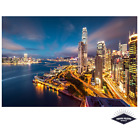 Hong Kong By Night Poster Quality Print 260gsm Premium Poster Paper