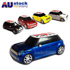 AU Mini Cooper BMW Car Wireless Mouse USB 2.4Ghz Optical PC Laptop Mice LED Gift