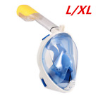 Swimming Diving Full Face Mask Snorkel Scuba Breather Tool for GoPro S/M/L/XL UK