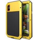 FAST SHIPPING WATERPROOF GORILLA GLASS FULL COVER METAL CASE FOR APPLE IPHONE X