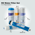5 Stage RO Water Filter System Drinking Water Softening Sea Water Desalination