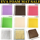 10 Color Interlocking EVA Soft Foam Exercise Floor Mat Gym Garage Kids Play LOT