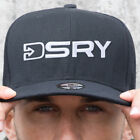 New DSRY 3D Embroidered Logo Baseball Cap Adjustable Snap Back Strap One Size