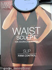 M&S HOURGLASS  SLIP WAIST SCULPT SLIP FIRM CONTROL BLACK