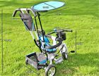 4 in 1 Baby Stroller Tricycle Trolley Carriage Bike Bicycle Wheels Walker Harnes