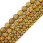 FixedPricenatural gemstone beads round loose strand 15-inch 4mm 6mm 8mm 10mm 12mm sizes