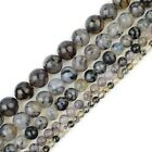 """Natural Gemstone Beads Round Loose Strand 15"""" 4mm 6mm 8mm 10mm 12mm USA Seller"""