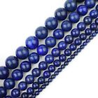 "Natural Gemstone Beads Round Loose Strand 15"" 4mm 6mm 8mm 10mm 12mm USA Seller"