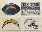 NFL San Diego Chargers Sticker Package Logo Helmet Football Vintage Stickers NEW $2.95 USD on eBay
