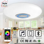 Stylehome RGB Led Ceiling Lamp Dimmable Loudspeaker Bluetooth Remote Control App