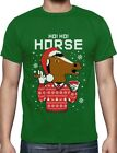 Horse Mask Ugly Christmas Sweater Holiday T-Shirt Gift