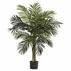 Nearly Natural Golden Cane Silk Palm Tree