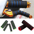 Motorcycle Bicycle HandleBar Grip + Brake Clutch Lever Soft Sponge Cover JPL