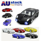 Cute 2.4Ghz Wireless Car Optical Mouse PC Laptop Game Mice +USB Receiver Gift AU