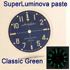 WATCHES-PARTS: HAND PAINTED SUPERLUMIA  648 DIAL VOSTOK AMPHIBIA 3 KINDS OF LUME image
