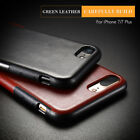 Luxury Slim PU Leather Business Back Phone Soft Case Cover For iPhone X 8 7 6