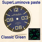 WATCHES-PARTS: HAND PAINTED SUPERLUMIA  815 DIAL VOSTOK AMPHIBIA 3 KINDS OF LUME image