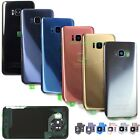 For Samsung Galaxy S8/S8 Plus Replacement Back Glass+Camera Lens Cover+IP68 Tape