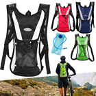 2L Bike Bicycle Hydration Pack Backpack Bag+2L Water Bag Camelbak Cycle Hike LOT