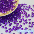 4.5mm Purple Pointed Back Acrylic Diamond Confetti Wedding Party Table Scatters