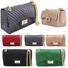 New Quilted Design Box Shape Women's Fashion Crossbody Bag Handbag