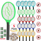 5Pack Cordless Bug Zapper Mosquito Insect Electric Fly Swatter Tennis Racket Bat