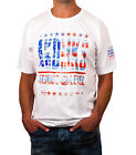 Men's Cotton Jeanius Level Washed Flag Tee from Akademiks