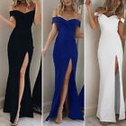 Women's Formal Bridesmaid Long Evening Ball Gown Party Prom Cocktail Maxi Dress