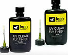 "2 OZ LOON UV CLEAR FLY FINISH -- THICK "" The Original"", THIN or FLOW fly tying"