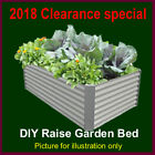 Prepainted steel raised garden bed planter box new design CLEARANCE
