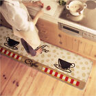 EP_ Soft Coffee Cup Pattern Small Rug Bedroom Kitchen Anti-s