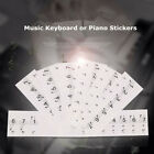 Music Keyboard or Piano white Stickers  key set learn To Pla