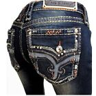 NEW - ROCK REVIVAL Womens Betty Boot Cut Stretch Jeans - 27,28,32,33,34,36