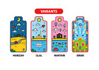 Kids Prayer Mat x 2 - Designed for Children, Salah Made Fun, Islam, Muslim, Eid