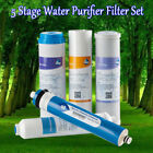 5 stage water filtration system - 5 Pcs Complete Filter Replacement Set Fit Brio 5 Stage Water Filtration System