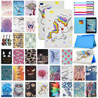 For iPad Mini 1 2 3 4 Magnetic Lovely Patterned Leather Wallet Stand Case Cover