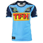 NRL 2018 Warm Up Jersey - Gold Coast Titans - Mens - Grey - BNWT