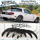 Mazda MX5 Miata fender flares set, JDM style wide body kit, Hight quality ABS. picture