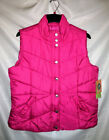 Ladies Womens L-XL Puffer Vests Purple Pink NWT