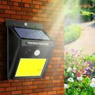48 LED Solar Power Motion Sensor Wall Light Outdoor Waterproof Garden Lamp