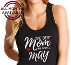 best bday gifts for husband - Tank Top The Best Mom Was Born in March Shirt Any Month Mothers Day Bday Gift