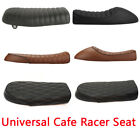 Motorcycle Vintage Cafe Racer Flat Brat&Hump Saddle Seat For Honda Suzuki Yamaha $49.65 USD on eBay