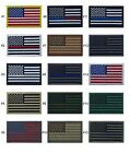 USA American Flag Patch 2 x 3 Hook & Loop Choice Military Tactical BEST VALUE
