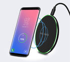 Fast Qi Wireless Charger Charging Pad Ulter thin F01 For Galaxy S9 S8 S8+ iphone