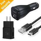 For Samsung Galaxy S9 S8 Note8 Fast Charging Dual USB Car Wa