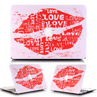 "Sweet Love Kiss Matte Ultra Slim Hard Shell Skin for MacBook AIR 13"" A1369 A1466"