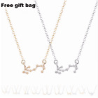 Zodiac Star Sign Constellation Necklace Gold Silver Astrology Jewellery UK 2018