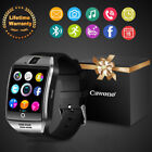 LATEST Q18 Bluetooth Smart Watch Camera SIM SD TF For HTC Samsung Android iPhone